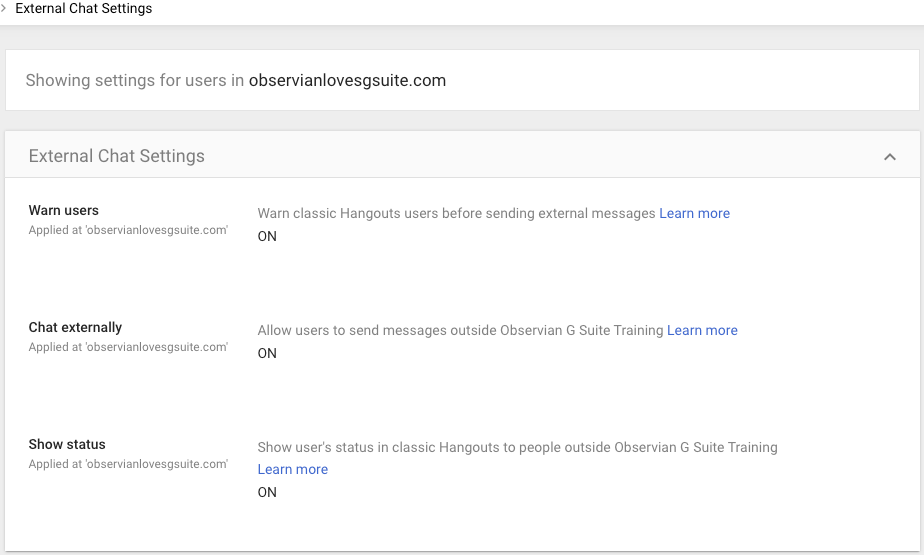 Big Strides for Google Chat